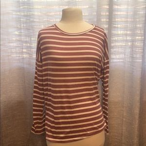 Buy 2 items for $10!Forever 21 striped long tee